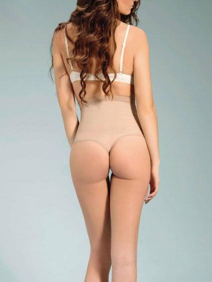 Fajas reductoras para mujer: Faja braga alta, tanga