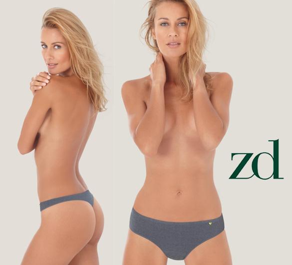 Soja en la ropa interior de ZD