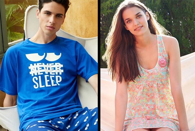 Pijamas hombre y mujer