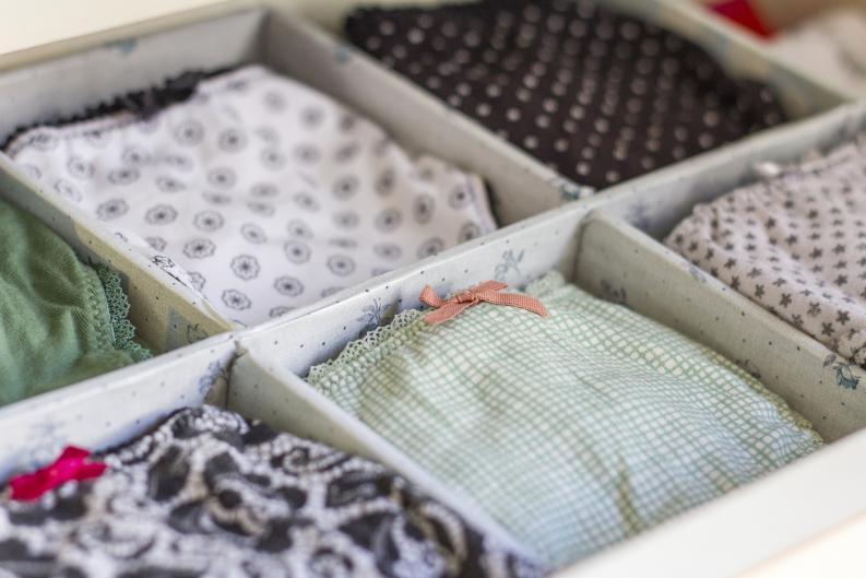 Organiser sous-vêtements