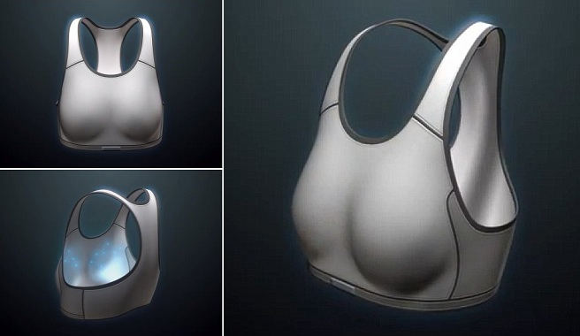 Sujetador que detecta el cáncer de mama