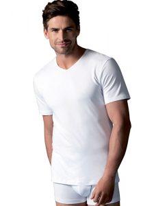 camisetas con cuello pico