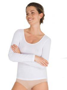 ropa interior térmica: camiseta manga larga mujer