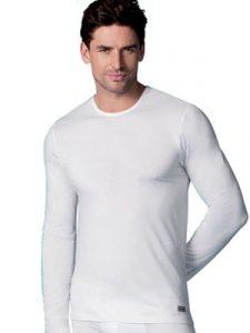 ropa interior térmica: camiseta manga larga hombre