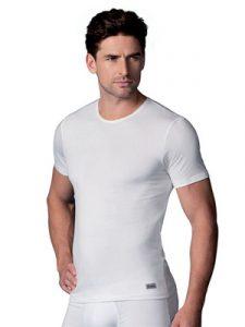 ropa interior térmica: camiseta manga corta hombre