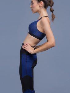 Ropa deportiva para mujer: Legging efecto shaping microfibra ¾