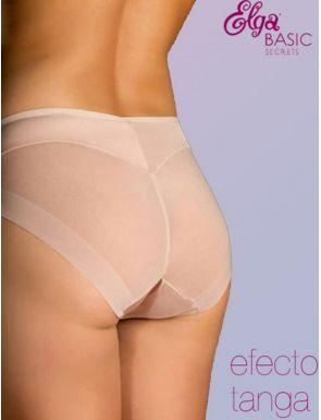 Braga bikini efecto tanga redondea glúteos