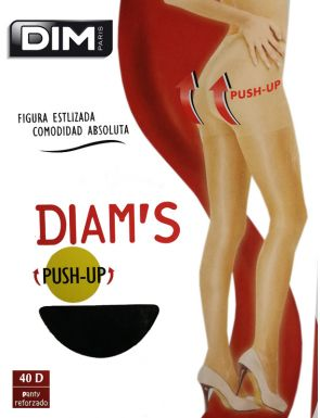 Medias panty Diam´s push-up 40D