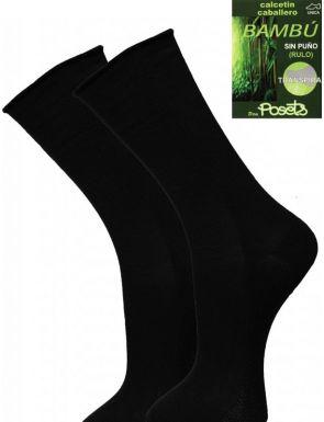 Pack de 2 calcetines finos de Bambú sin puño