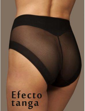 Braga efecto tanga vientre plano Elga