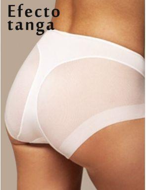 Braga efecto tanga medio invisible Elga