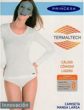 Camiseta interior manga larga térmica