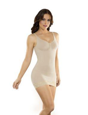 Vestido combinación faja sin costuras CoCoon