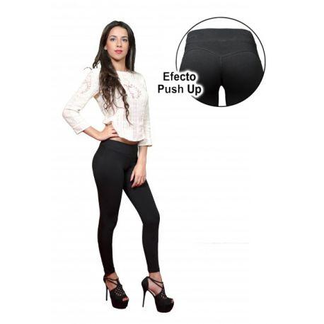 Pantalón legging push up de algodón