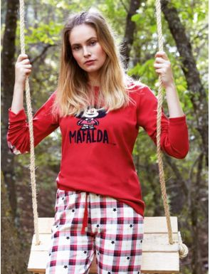 Pijama de mujer invierno Mafalda