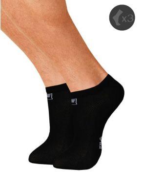 Pack x3 Calcetines deportivos cortos Fila