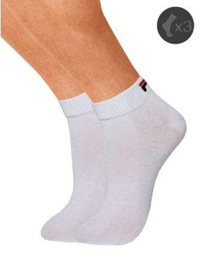 Pack x3 Calcetines deportivos tobilleros fila