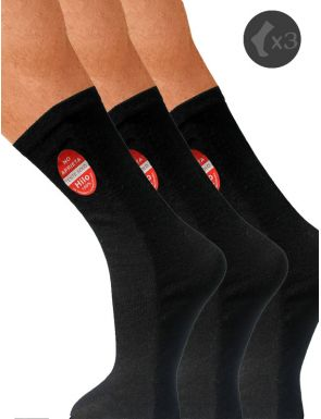 Calcetines medicinales pies sensibles x3