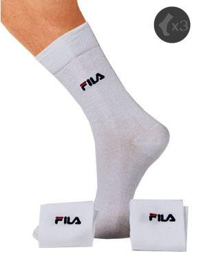 Calcetines deportivos Fila algodón x3