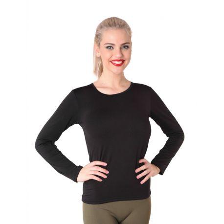 Camiseta mujer termal con felpa interior