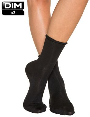 Calcetines modal para mujer DIM x2