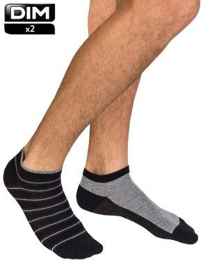 Calcetines cortos hombre DIM x2