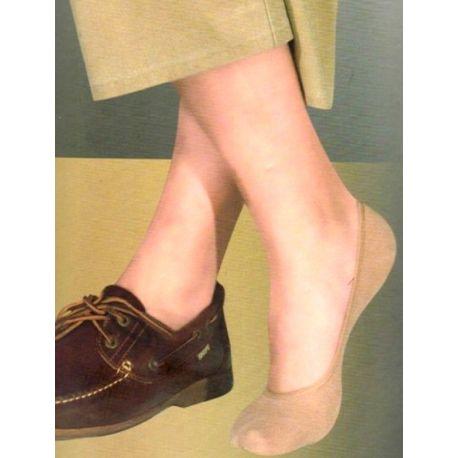 Calcetines invisibles de algodón hombre