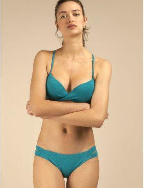 Bikini cruzado de bonito tejido Gisela