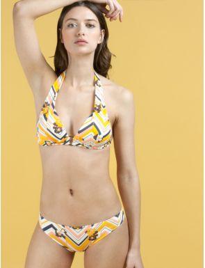 Bikini triángulo con foam sin aros