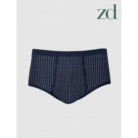 Slip Senior abierto a rayas ZD