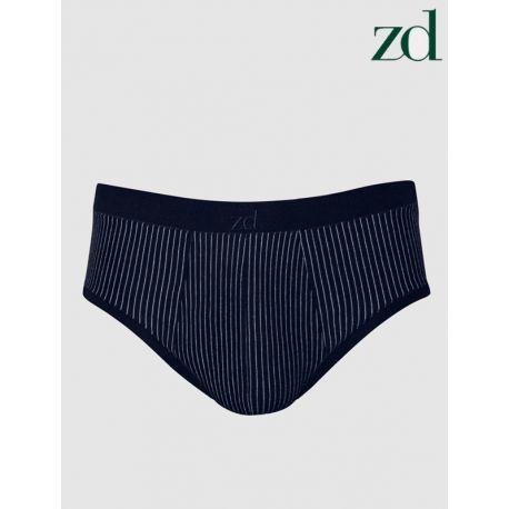 Slip Mini algodón egipcio rayas ZD