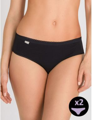 Bragas mini algodón Playtex x2