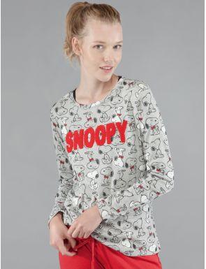 Pijama para mujer de Snoopy