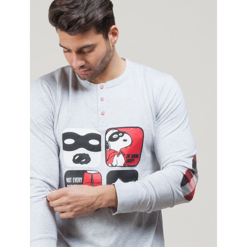 4349fc5d Pijama para hombre Snoopy | Pijamas invierno para hombre 100% Algodón