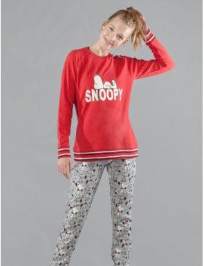 Pijama mujer invierno Snoopy