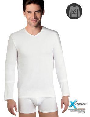 Camiseta Manga larga X-Temp DIM x2