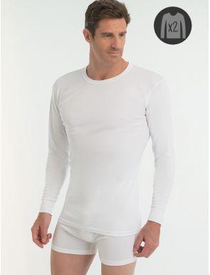 Camiseta de algodón 100% M/L Abanderado X2