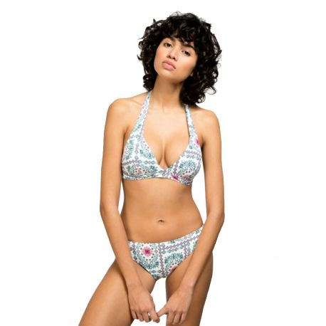 f06abdb89b68 Bikini mujer Gisela estampado floral - Sujetador Bikini triangular
