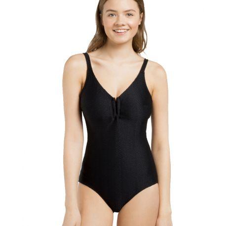 Bañador sin aro efecto shape de Gisela
