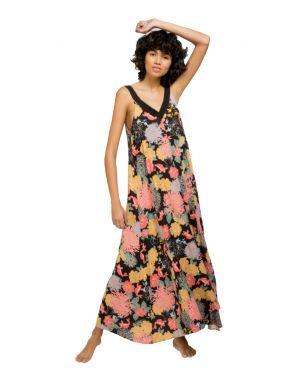 Vestido Gisela largo estampado floral