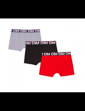 2+1 Boxers niño colores lisos DIM
