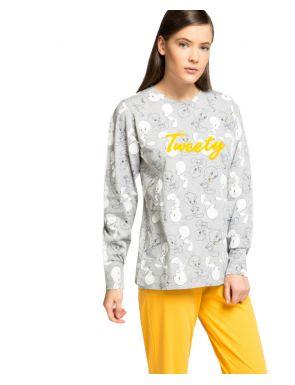 Pijama largo para mujer algodón Piolín