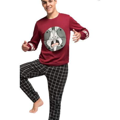 Pijama largo hombre Bugs Bunny