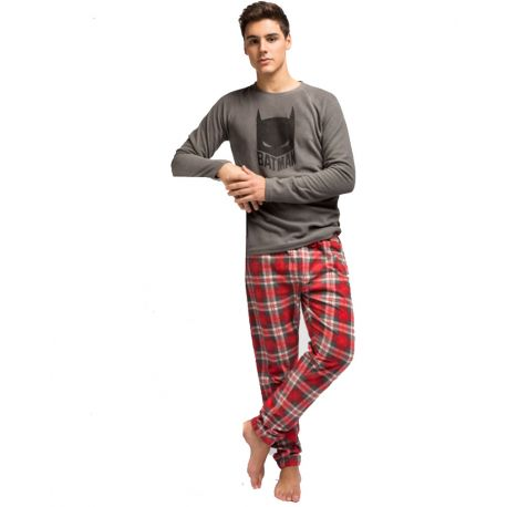 Pijama micropolar Batman para Hombre