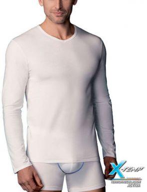 Camiseta X-Temp M/L cuello pico Abanderado