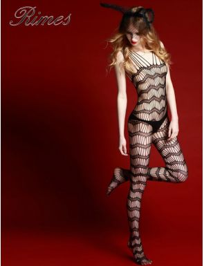 Body Stocking Rimes Rejilla