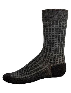 Calcetines de caña media de lana para hombre