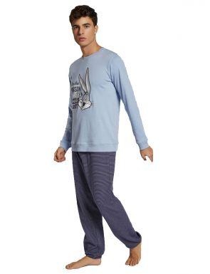 Pijama hombre Looney Tunes rayas