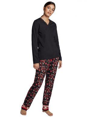 Pijama pantalón estampado