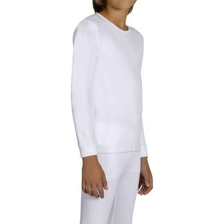 Camiseta interior térmica infantil unisex